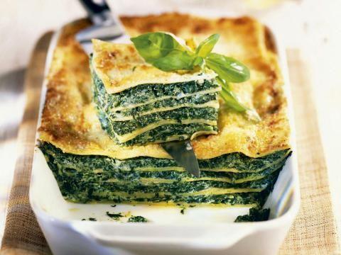 Recept: Lasagne met spinazie