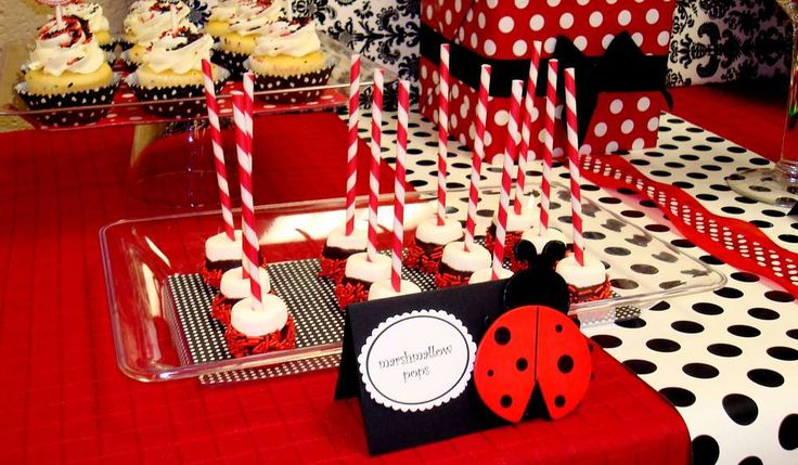 Ladybug Birthday Party Ideas | Photo 10 of 16 | Catch My Party