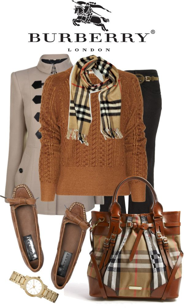 """""""Burberry"""" by stacy-klein on Polyvore"""