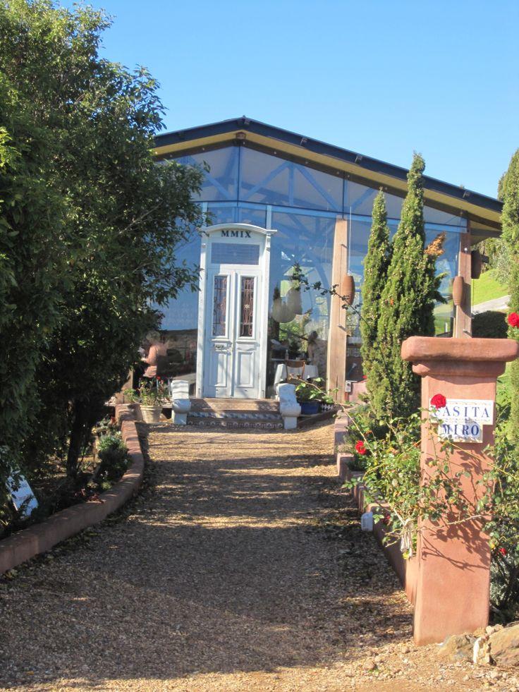 Amazing vineyard restaurant Casita miro