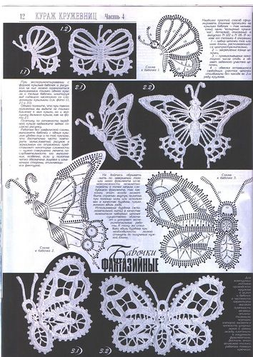 Butterflies Crochet