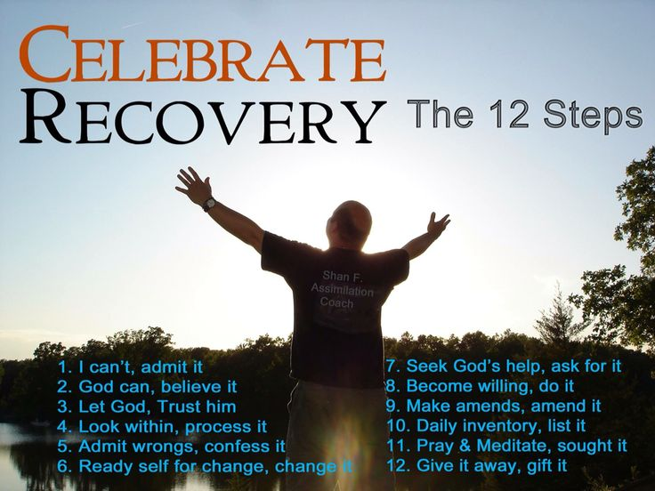 Love addiction recovery steps