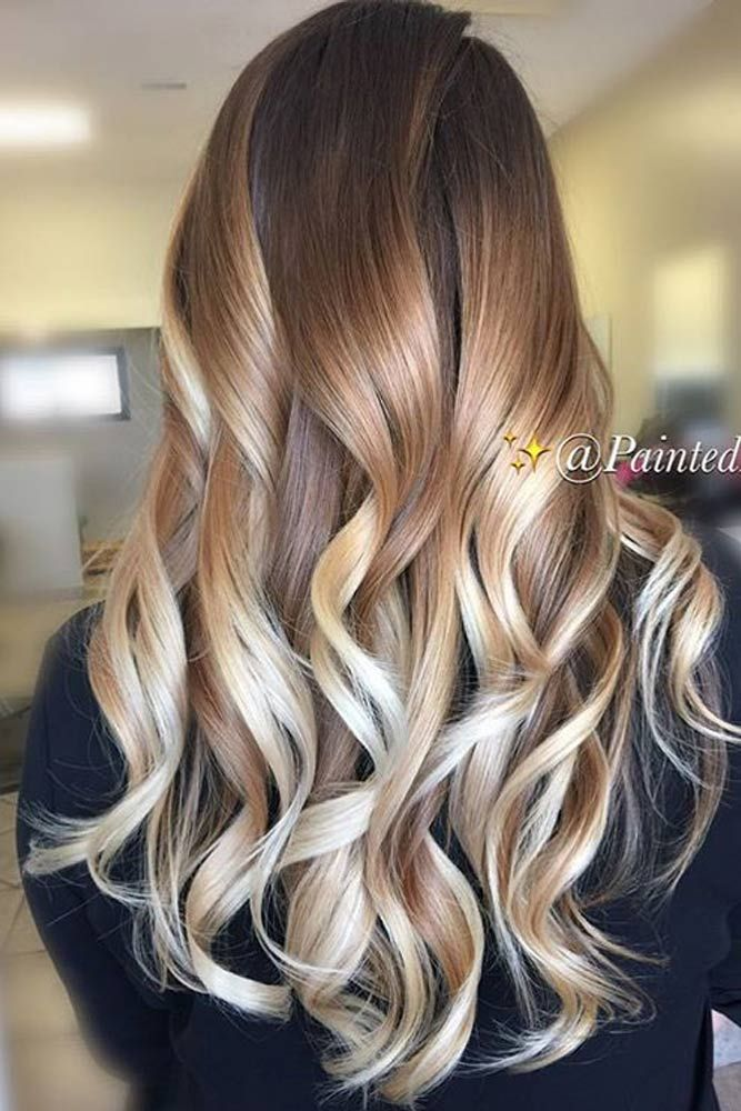 The 25 best caramel ombre ideas on pinterest caramel balayage 35 balayage hair ideas in brown to caramel tone brown blondeblonde ombreombre urmus Image collections