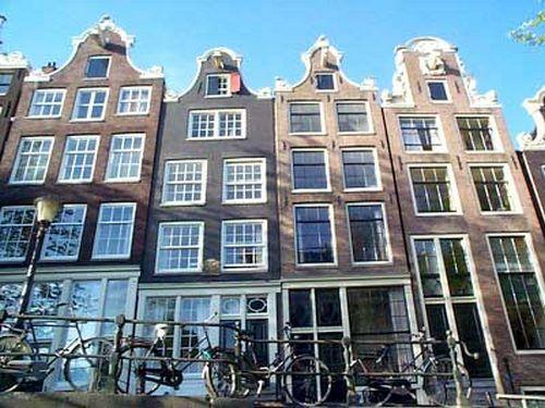 Amsterdam, le Case Tipiche. Facciate