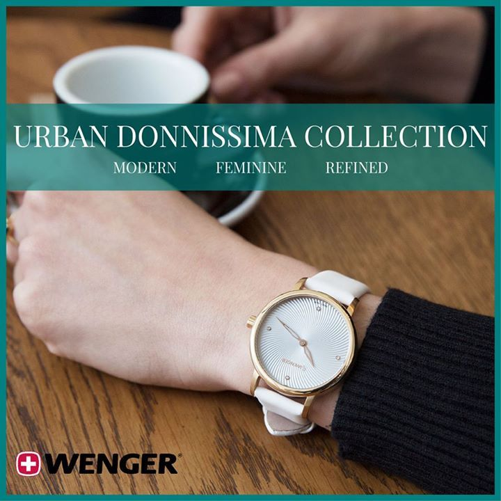 NEW Styles of the Ultra Feminine, Ultra Modern Wenger Urban Donnissima Collection.  Genuine Leather Strap, Four Crystal Markers, and Guilloche Dial.  In Cool, Crisp Colors for Fall. https://www.princetonwatches.com/collections/wenger-urban-classic-vintage #watch  #watches  #watchoftheday  #luxury #rolex  #timepiece    #watchcollector    #omega  #rolexwatch   #swissmade  #luxurywatch #chronograph       #luxurywatches #watchlover