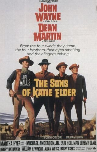 """The Sons of Katie Elder"" 1965 (Technicolor Western Film)"