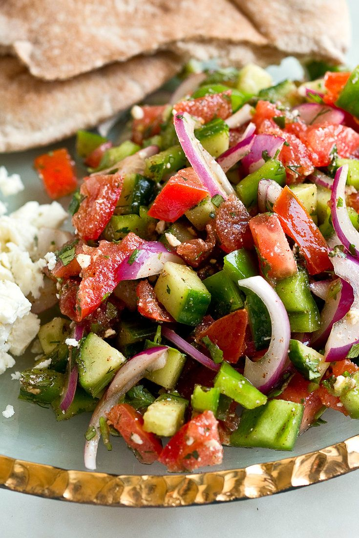 "NYT Cooking: What distinguishes this summer salad are all the fresh herbs and the sumac and red pepper used to season it. You can buy these spices at Middle Eastern markets or from online retailers like Penzey's. The recipe is adapted from one in ""The Little Foods of the Mediterranean,"" by Clifford A. Wright."