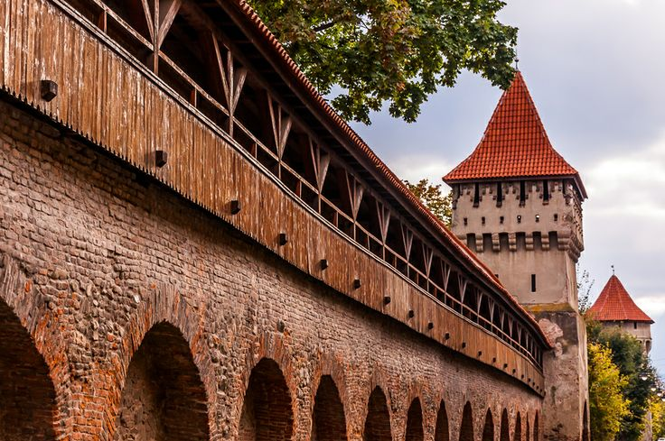 City walls by Teodor Negru on 500px Part of the old city walls at Sibiu, Romania. www.romaniasfriends.com