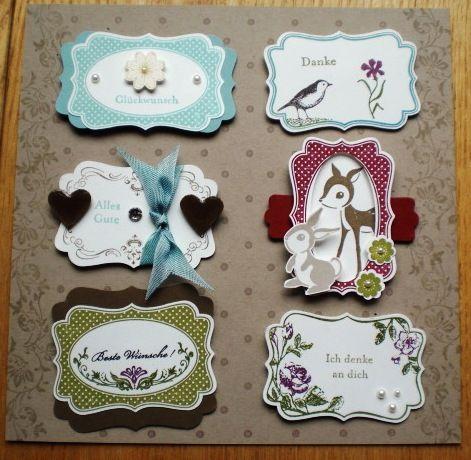 Sonja´s Hobbyblog: Stampin`Up! Card Candy awesomeness #SU Four Frames stamp set
