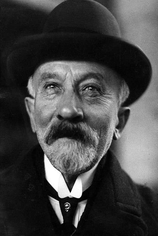 Marie-Georges-Jean Méliès, known as Georges Méliès (1861-1938) - French illusionist and filmmaker, famous for leading many technical and narrative developments in the earliest days of cinema.