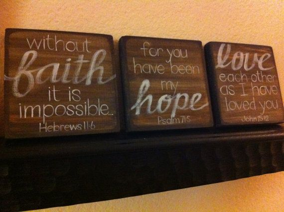 Scripture Wall Art Home Decor : Images about faith hope love on