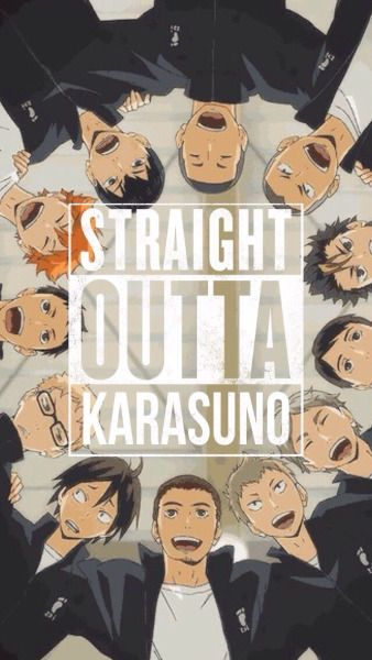 Haikyuu!! Phone Wallpaper / Lock Screen - KARASUNO