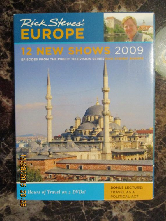 Rick Steves' EUROPE 12 New Shows 2009 DVD  by WhimseysByAnne