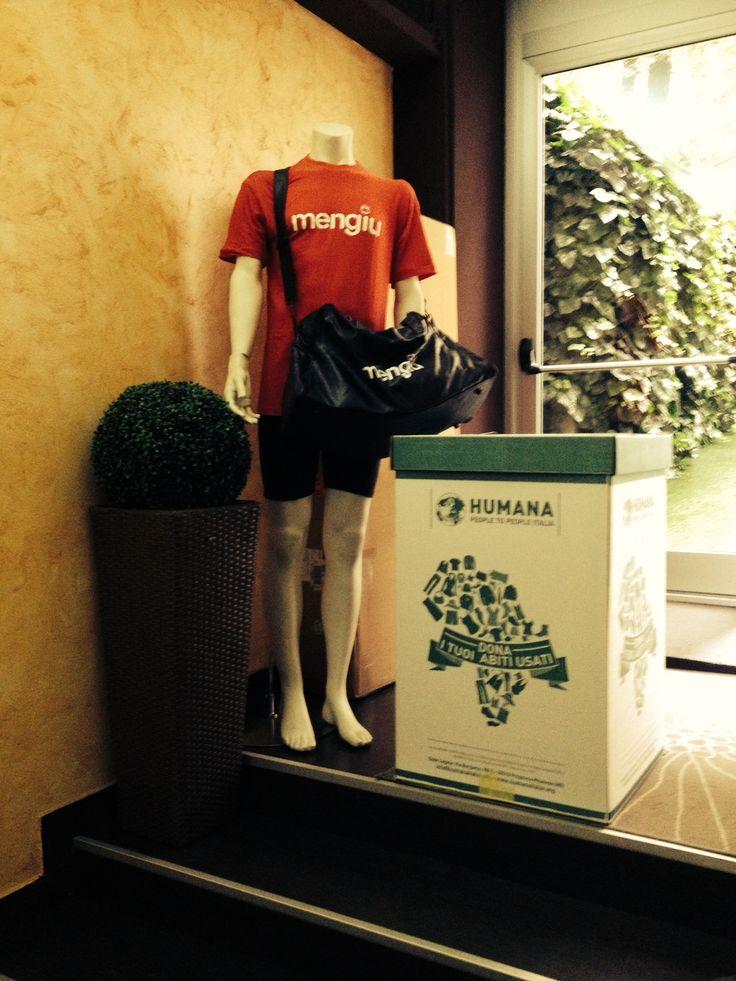 Da oggi donare i tuoi vestiti usati in centro città è ancora più facile: cerca l'Ecobox più vicino a te!