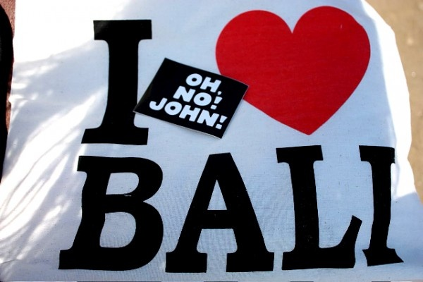 John loves Bali!  #summer #bali #holidays