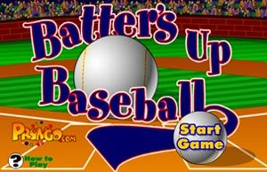 Batter's Up Baseball (math game) in either multiplication or addition!