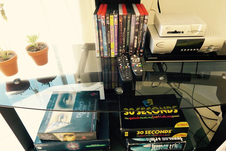 There is a selection of DVDs to entertain you