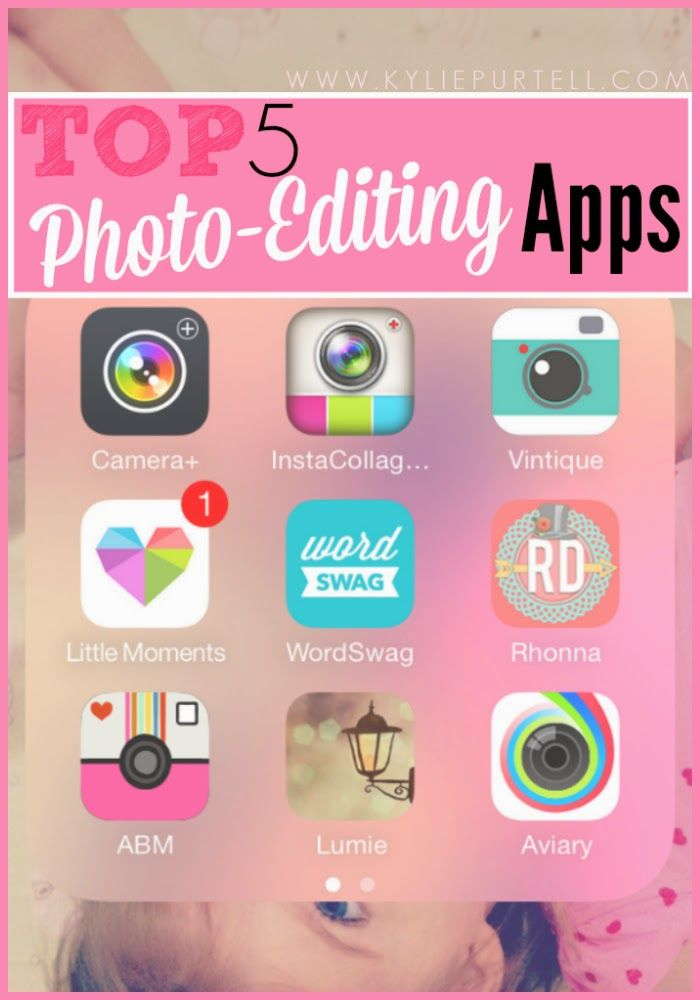 My Top 5 Best Photo Editing Apps // Photography | Kylie Purtell - A Study in Contradictions