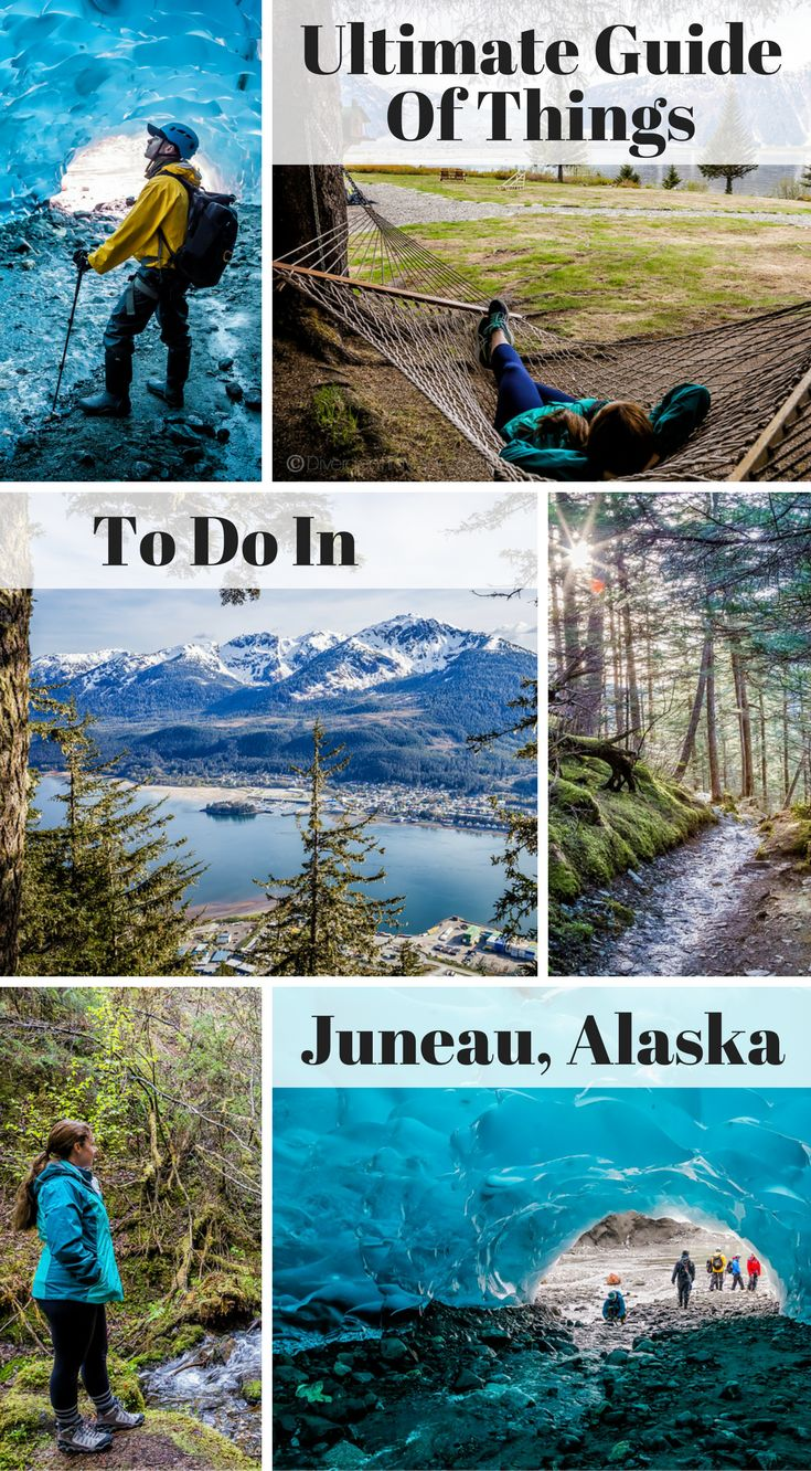 Ultimate Guide of Things to Do in Juneau, Alaska. Our time in Juneau culminated in 5 action packed days of adventure, exploring and eating our way right into the fan club of the city.  Shocked to learn that most people only spend the one day they have on a  cruise ship in Juneau. Click to read the full travel blog post by the Divergent Travelers Adventure Travel Blog. https://www.divergenttravelers.com/things-to-do-in-juneau/ #Alaska #adventure #travel #Juneau