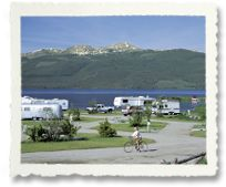 Yellowstone Holiday RV Park - Hegben Lake $35 night. This park is actually right outside of West Yellowstone in Montana and is the perfect place to camp. The scenery is awesome! If you like to be away from the crowds but still close to everything, this is the park for you.  It's 10 minutes to the west entrance of Yellowstone National Park. Check out my Montana board for things to do close by. Don't miss ATVing up two top mountain.