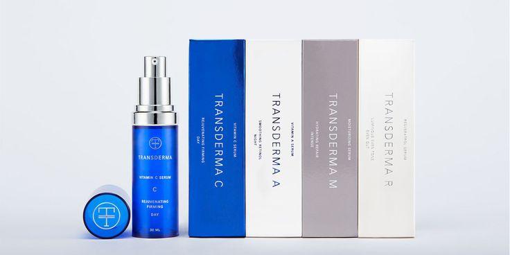 Transderma Skin Care — The Dieline - Branding & Packaging