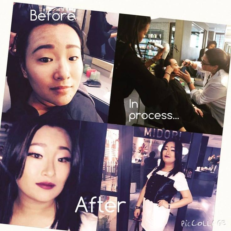 Midori Makeover for a client's special event!! Ts & Cs apply - when you like Midori Eco Salon - it entitles you to specials.