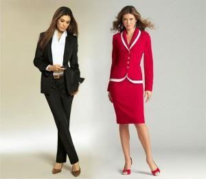 Статьи о женском деловом костюме