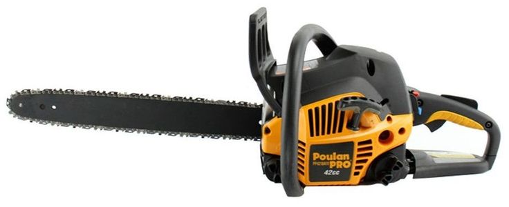 Poulan Pro 18 Inch 42CC 2 Cycle Gas Chainsaw, Certified Refurbished   PP4218A  #Poulan