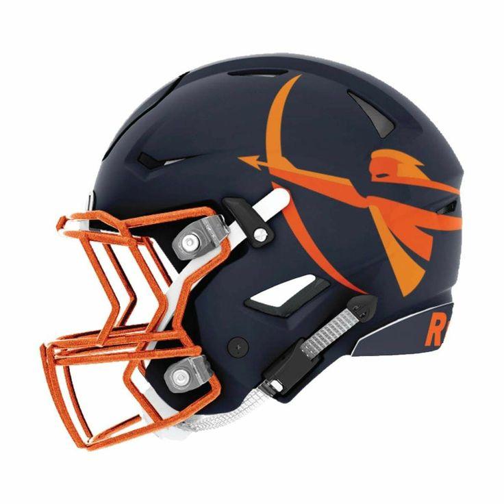 Pin by brett thomas on the end zone football helmets