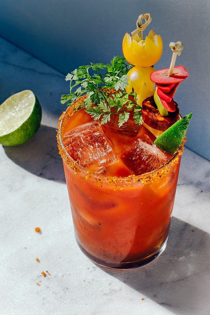The Caesar Snacker Cocktail
