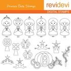 Cute digistamp set featuring princesses.  These digital stamp cliparts are very useful for teachers and educators for creating their school and cla...