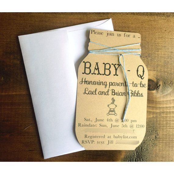 Baby q invitation baby q shower invitations baby q by FalcoClan