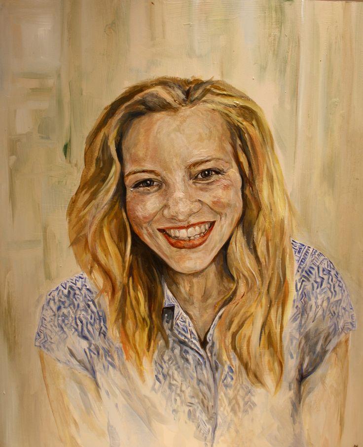 Sophie  Oil on Board 68 x 72