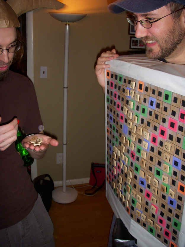 17 best images about halloween game costume ideas on pinterest for Diy scrabble costume