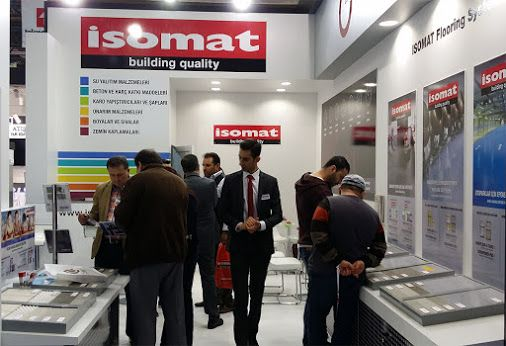 At our stand here in Istanbul, the guests just keep coming! All the latest developments in the field of construction industry are presented at the 39th YAPI-TURKEYBUILD exhibition, and of course ISOMAT could not miss it. Visit us at Hall 2, Stand 352!
