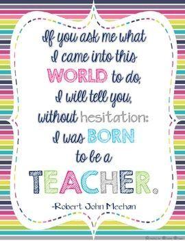 FREE Teacher Appreciation Poster Print | TpT FREEBIES | Teacher
