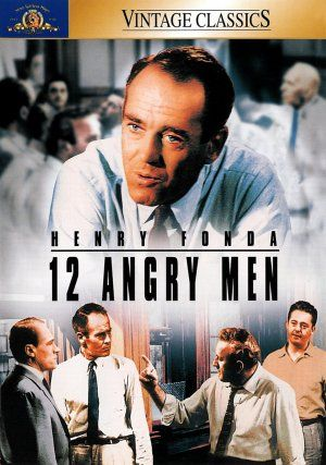 12 Angry Men (1957), Sidney Lumet, with Henry Fonda. The role of group dynamics.