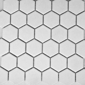 White Matt Hexagonal PPM894