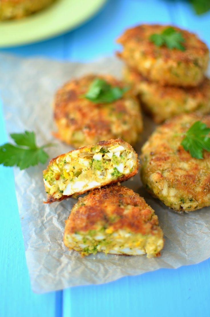 Cook & Look: Kotlety jajeczne z brokułami