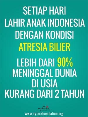 Fakta Atresia Bilier di Indonesia