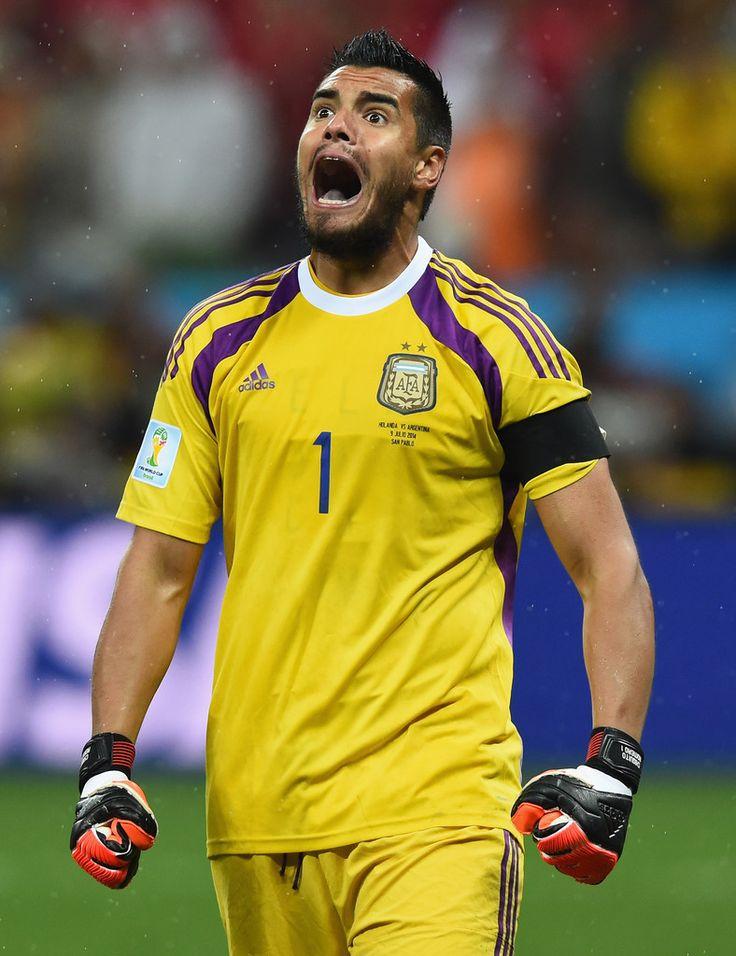 Sergio Romero - Semifinal (Argentina 0 (4) - Holanda 0 (2))