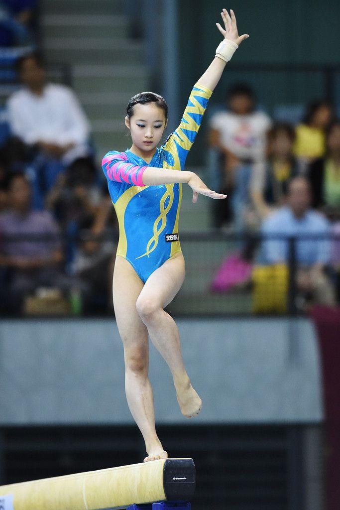 Yuna Hiraiwa Photos - All-Japan Gymnastics Apparatus Championships
