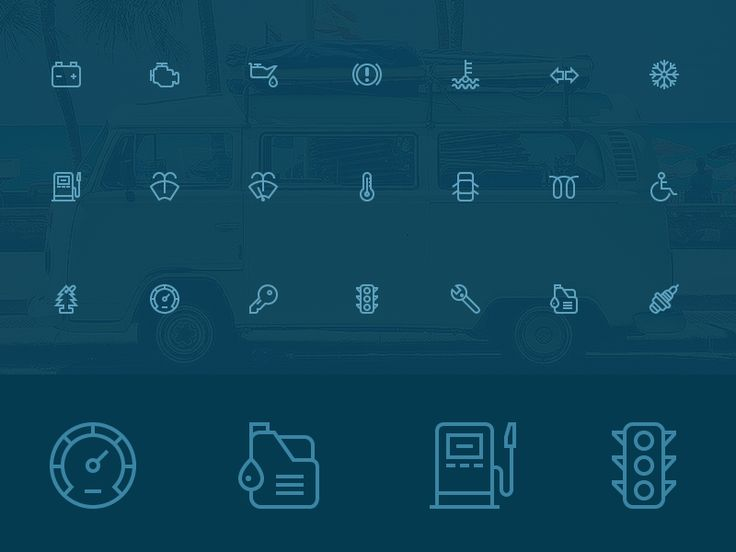 Hey! I present you 30 outline auto / car icons! Check out full set or CHECK IT OUT AT CREATIVE MARKET Have a lovely day!