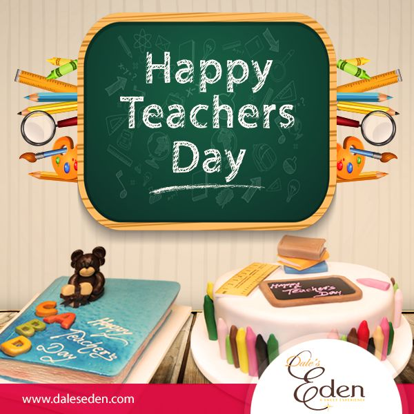 They Guided us,  They Support us, They Inspire us, They Teach us, Today is the day to thank them and say, #HappyTeacher'sDAY