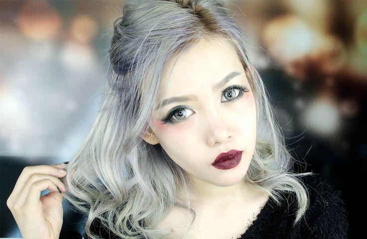 Silver Vampire Make Up Tutorial | Stella Lee