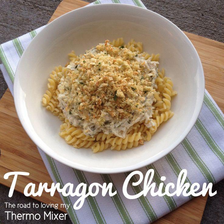 Tarragon chicken pasta