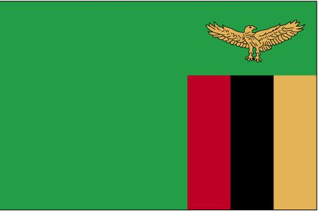 Country Flags: Zambia Flag