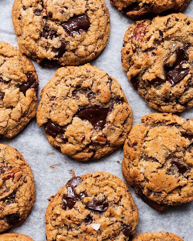 Baking Free Instagram Feed Feedfeed Chocolate Chip Cookies Vegan Cookies Vegan Sweets Treats
