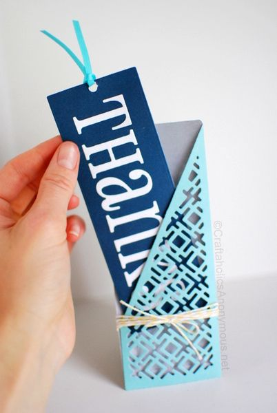 Easy Pocket Card idea #craft #handmade http://www.craftaholicsanonymous.net/pocket-thank-you-card-lifestyle-crafts-spring-dies