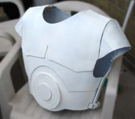Costuming How-To 101: Fantasy Armor Created from Recycled Plastic Chemical Barrels